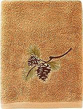 SKL Home Pinehaven Bath Towel, Wheat