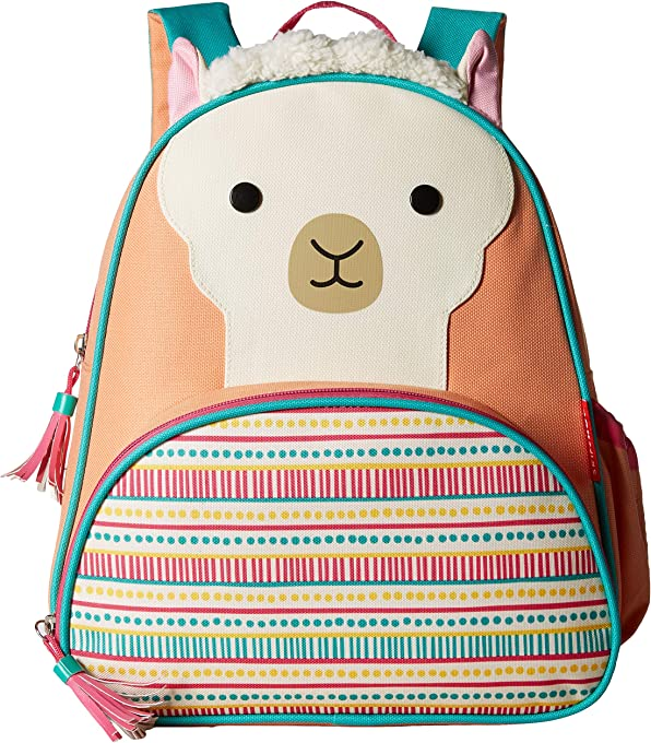 Skip Hop Zoo Pack Little Kids Backpack, Llama