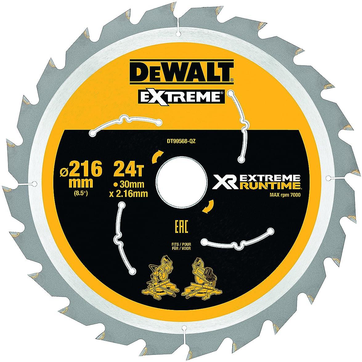 DeWALT 丸のこぎり替刃 刃直径216mm DT99568-QZ