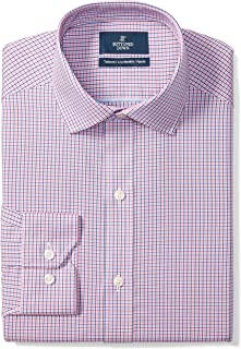 Amazon Brand - BUTTONED DOWN Men's Tailored Fit Check...