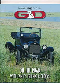 G & D : The 2018 National Covette Restorers National Meet ; Dick Devecchi's Chevys ; The Vintage Chevrolet Heritage Foundation and the VCCA; My Mom's 1956 Nomad (2018 Journal)