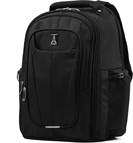 Travelpro Maxlite 5 Laptop Travel Carry-on Backpack (Black/Slate Green)