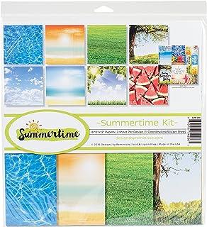 Reminisce Summertime Scrapbook Collection Kit