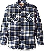 flannel sherpa jacket men's
