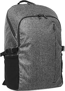 Amazon Basics - Mochila para las clases para portátiles de hasta 38 cm, gris