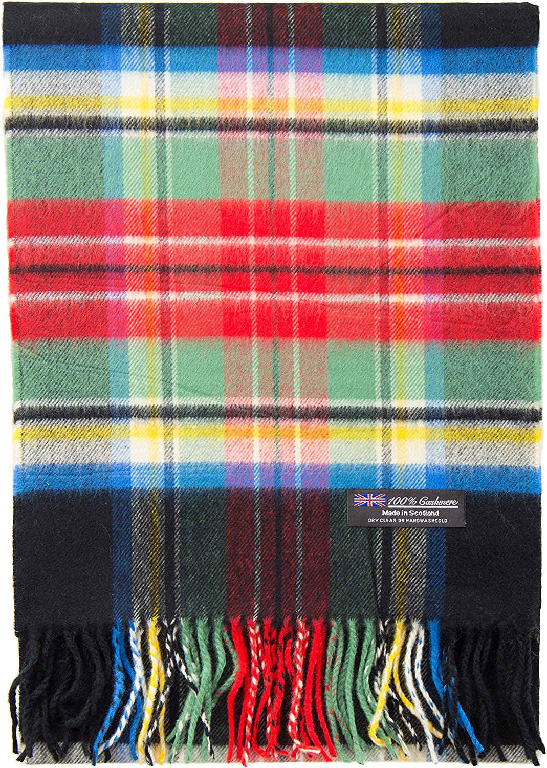 2 PLY 100% Cashmere Scarf Winter City Fashion Collection Made in Scotland Warm Soft Wool Solid Tartan Check Plaid Men Women