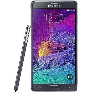 Samsung Galaxy Note 4 N910a 32GB Unlocked GSM 4G LTE Smartphone w/ 16MP Camera - Black - International Version, No Warranty