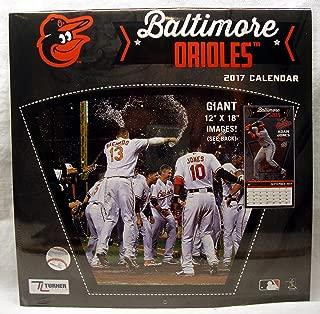 Baltimore Orioles 2017 Calendar