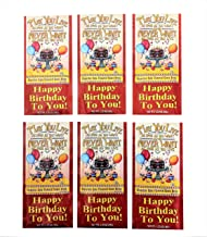 McSteven's - Happy Birthday Cocoa Drink Mix - Chocolate Cake Flavor, Pack of 6