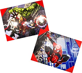 """Edge home Products Spider-Man & Avenger Canvas Wall Art, 12"""" x 16"""""""