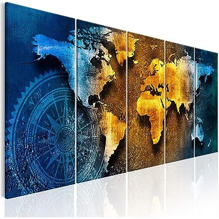 Tableaux Tableau Mural Image sur Toile Photo Images Motif Moderne D/écoration tendu sur Chassis Arbre Paysage 4 Piece Impression sur Toile intiss/ée Nature Foret 40x40 cm decomonkey