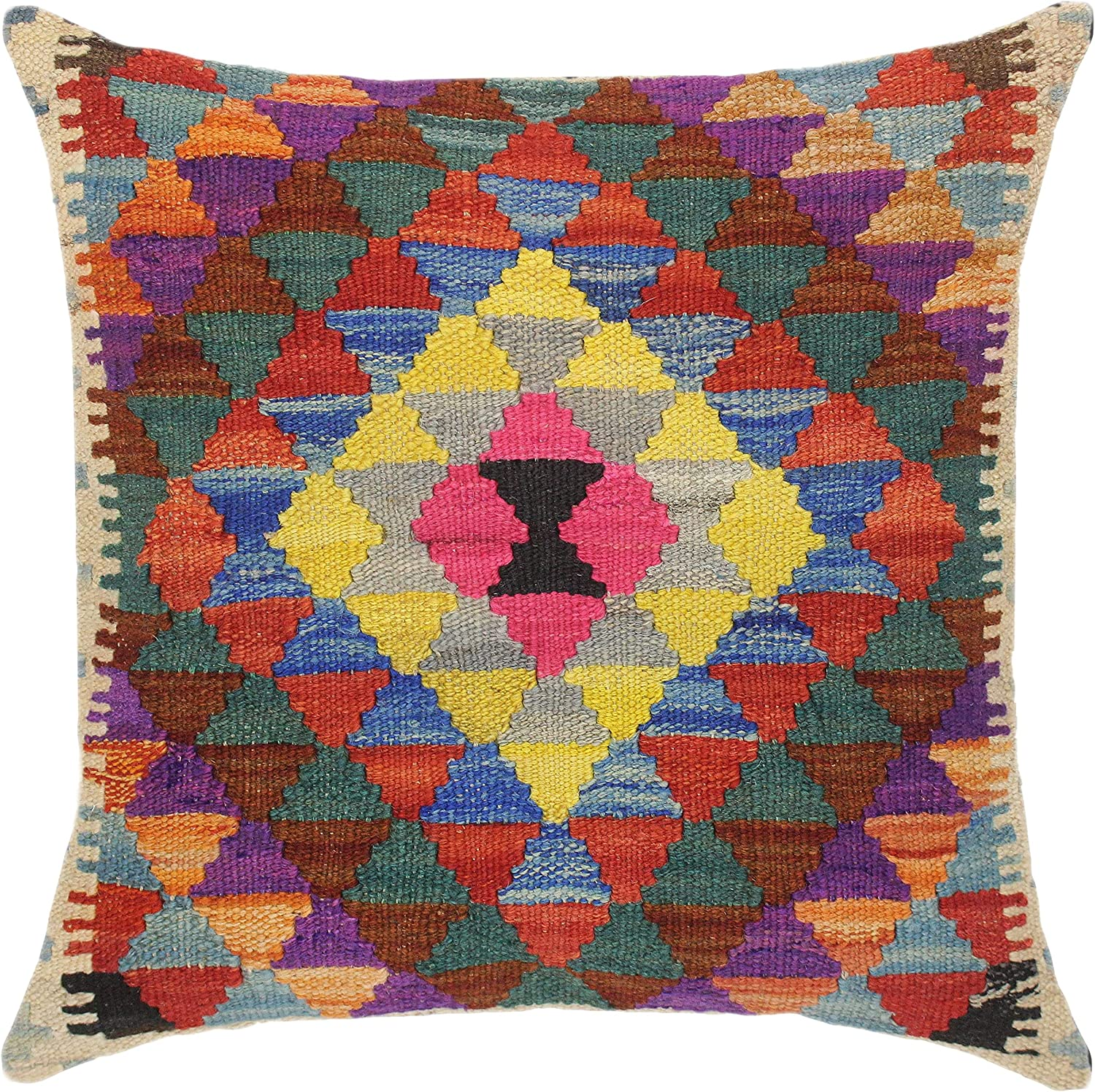 Shabby Chic Turkish At the price Despina Hand Woven Throw Pillow Kilim 2021 spring and summer new