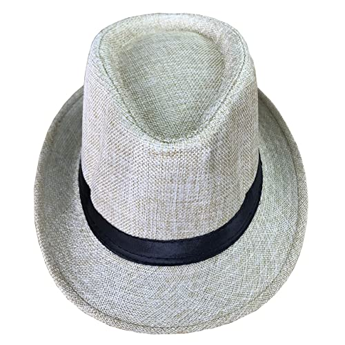 d5f0a9546181a CLUB CUBANA Fedora Hats Men Women Unisex Trilby Hat Panama Style Summer Beach  Sun Jazz Cap