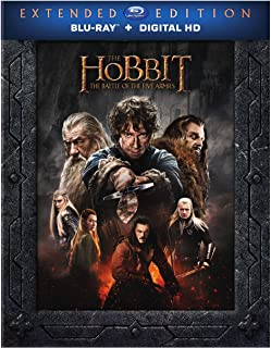The Hobbit: The Battle of the Five Armies (Blu-ray + Digital)
