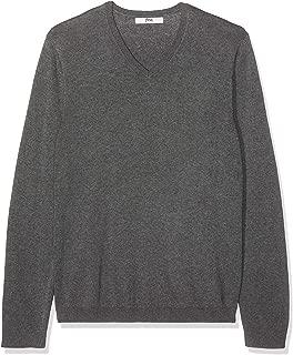 Men's Cotton V-Neck Sweater
