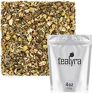Tealyra - Rest and Digest - Calming Chamomile - Fennel - Anise - Peppermint - Herbal Tea Loose Leaf Tea - Relaxing and Dig...