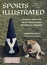 Sports Illustrated Vol. 5 No. 19 (November 5, 1956) Yale vs. Dartmouth