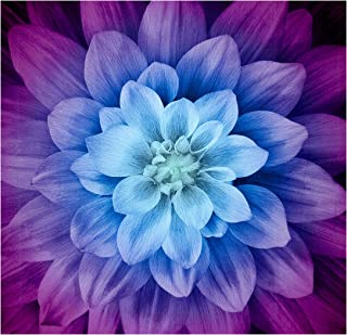 Hoffman Fabrics 0560465 Hoffman Digital Dream Big Flower 43inPanel Aurora