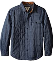 VISSLA Kids - Cronkhite Quilted Shirt Jacket (Big Kids)