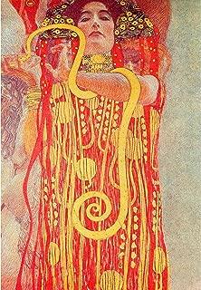 University of Vienna Ceiling Paintings (Medicine), Detail Showing Hygieia by Gustav Klimt