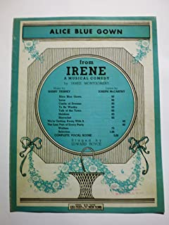 Alice Blue Gown [Sheet Music]