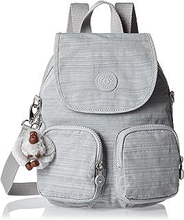 Kipling Firefly Up Medium Backpack Dazz Grey