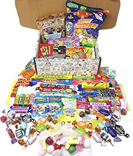 Retro Sweets Mega Gift Box: Jam Packed With Over 60 of the Best, Most Mouthwatering Retro Sweets. Perfect Christmas Gift, ...