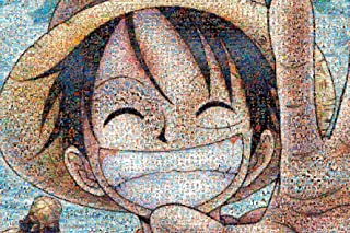 One Piece - 1000pcs Jigsaw Puzzle [Mosaic Art] by Ensky
