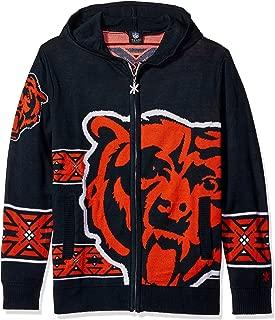 NFL Men's Full Zip Hooded Sweater