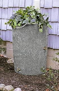 Good Ideas IMP-C50-LIG Impressions Bark Rain Saver, 50-Gallon, Light Granite