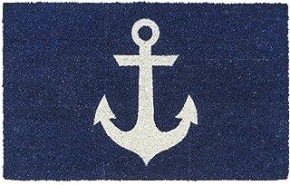 """Entryways Anchor Non- Slip Coconut Fiber Doormat 17"""" X 28"""" X .5 """""""