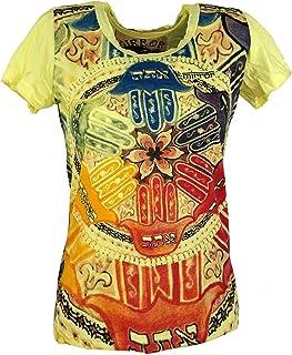 Sure Long Shirt Cotone Miniabito OM Tree Guru-Shop Certo che le Camicie