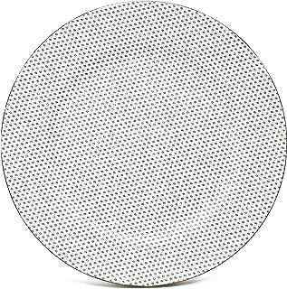 rhinestone charger plates