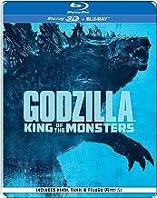 Godzilla: King of the Monsters(Steelbook) (Blu-ray 3D & Blu-ray) (2-Disc)