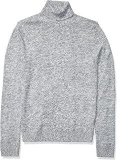 Amazon Brand - Goodthreads Men's Supersoft Marled Turtleneck Sweater