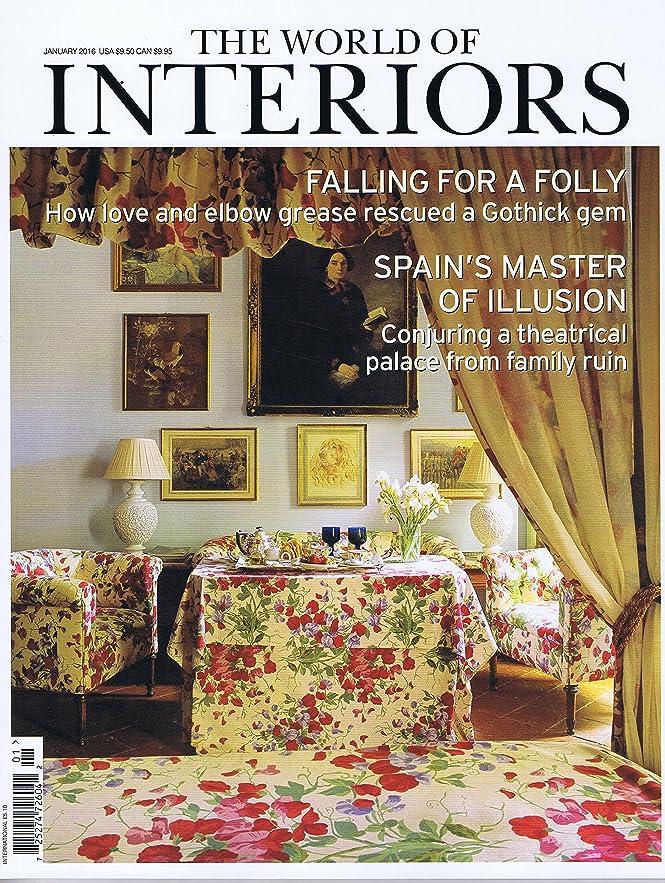 処理発揮する方法The World of Interiors [UK] January 2016 (単号)