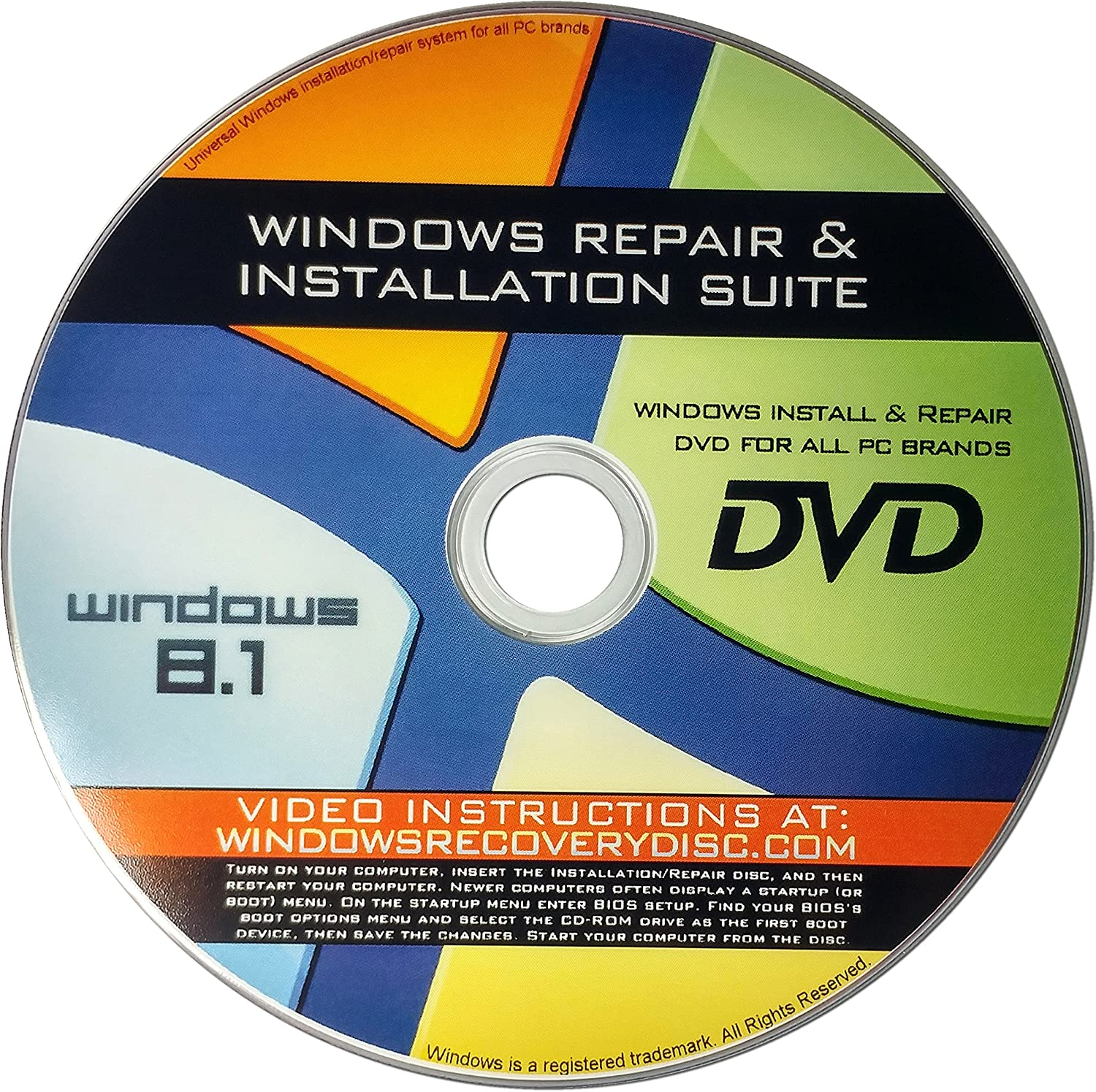 Recovery Repair Re-install disc compatible 64 Low price 8.1 Luxury 32 with Win