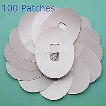 Abbott 100 Parches Adhesivos ultrafinos precortados para Sensor Dexcom G4 G5, Color Piel