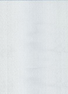 GAH-ALBERTS 466947 - Chapa perforada - agujero redondo, aluminio anodizado color plata, 250 X 500 X 0,8 Mm