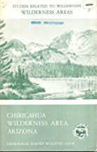 Mineral resources of the Chiricahua Wilderness Area, Cochise County, Arizona,