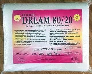 Quilter's Dream 80/20, Natural, Select Loft Batting - Queen Size 108
