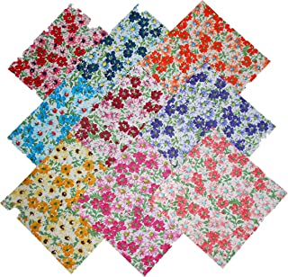 10 10 inch Beautiful BlackDream Cotton Solids Layer Cake Quilting Fabric Squares