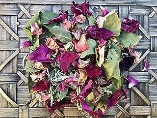 Rose, Bay Leaf + Sage Loose Incense Blend