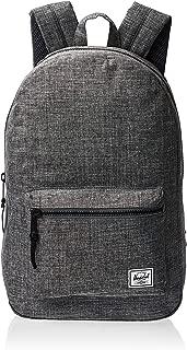Herschel Unisex-Adult Settlement Mid-Volume Backpack, Raven Crosshatch - 10033