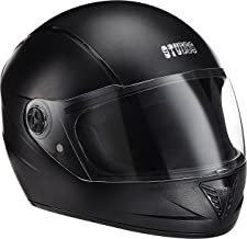 Studds Professional Full Face Helmet (Black, L)