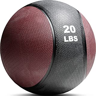 Titan Fitness 4-20 lb Weighted Medicine Ball Rubber Muscle Driver Sport