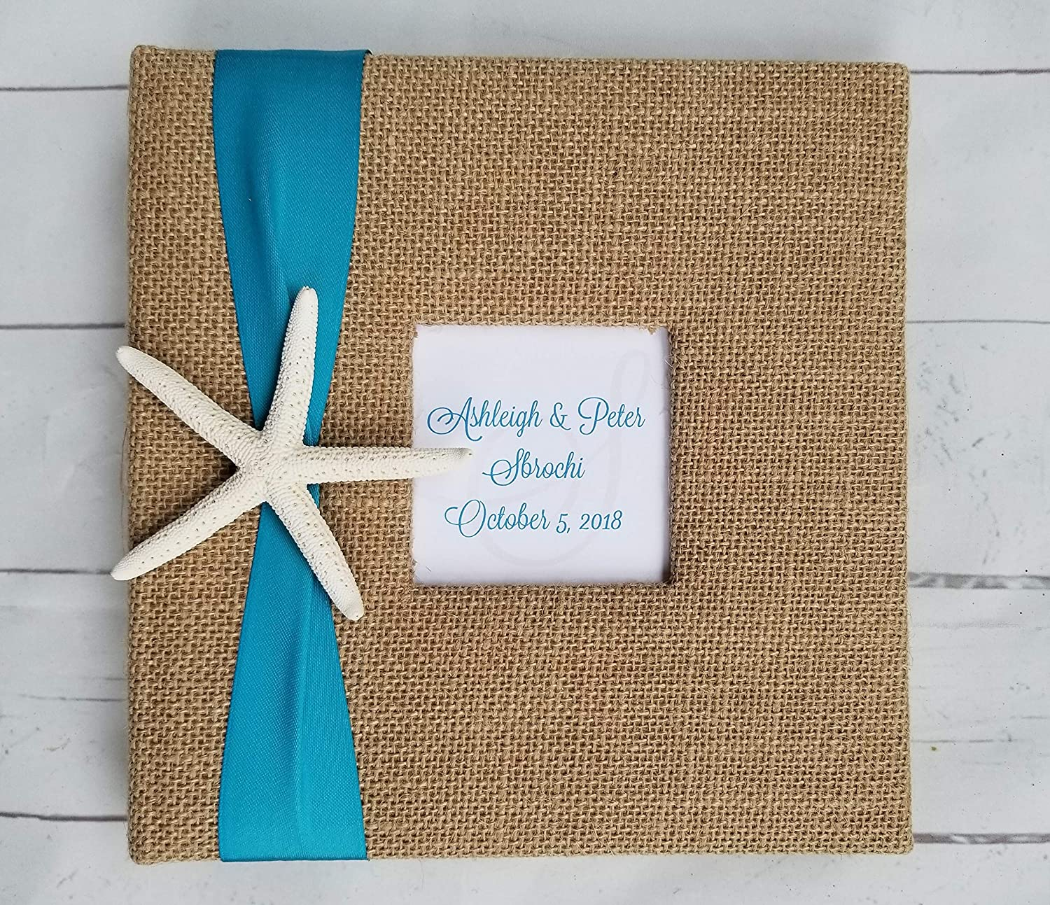 Starfish Photo Album - Your choice Ultra-Cheap Deals ribbon Holds 4x of 160 color- Inexpensive