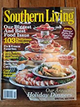 Southern Living, November 2008 issue-Our Biggest and Best Food Issue. 103 Delicious Recipes