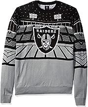 FOCO NFL Oakland Raiders Mens Light Up Bluetooth Speaker Sweaterlight Up Bluetooth Speaker Sweater