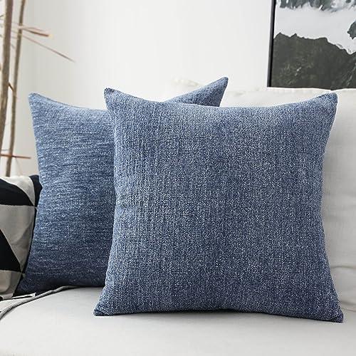 Astounding Blue And Gray Throw Pillows Amazon Com Camellatalisay Diy Chair Ideas Camellatalisaycom